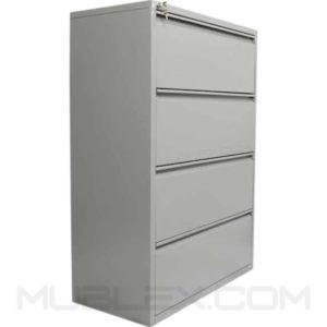archivador de carpetas colgantes metalico 4 cajones horizontal