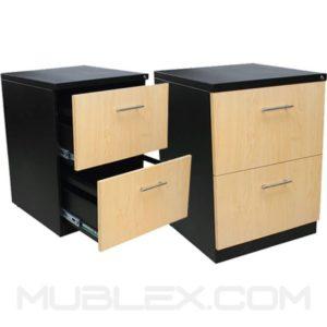 archivadores para oficina 1x1 metalico frente 37 cm 2