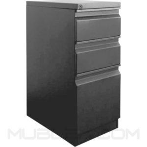 archivadores para oficina 2x1 metalico frente 30 cm