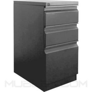 archivadores para oficina 2x1 metalico frente 37 cm