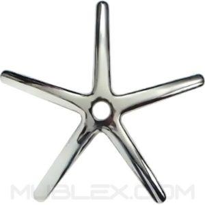 base en aluminio para silla 64 cm