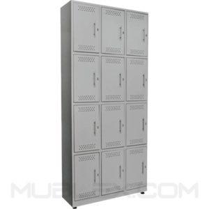 locker metalico 12 casilleros