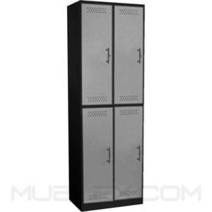 locker metalico 4 casilleros