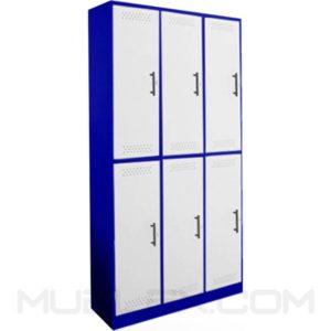 locker metalico 6 casilleros 2