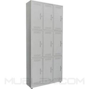 locker metalico 9 casilleros