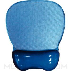 pad mouse gel crystal azul