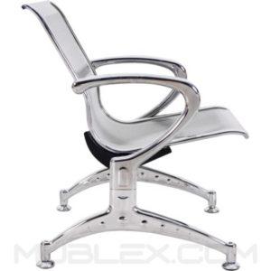 silla de espera metalica 1 puesto 2