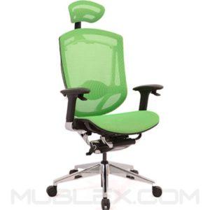 silla sidney verde con cabecero lujo