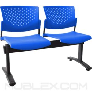 silla tandem butterfly 2 puestos