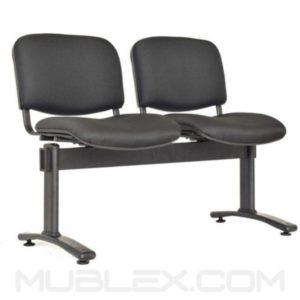 silla tandem isosceles 2 puestos 2