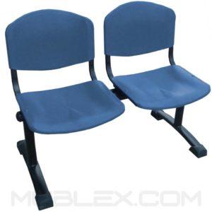 silla tandem novaiso 2 puestos