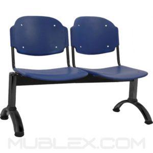 silla tandem venus 2 puestos