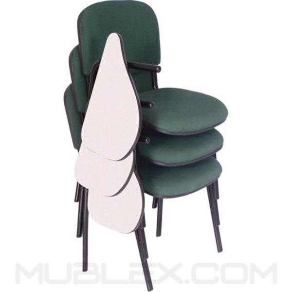 silla universitaria isosceles brazo escualizable en formica 3