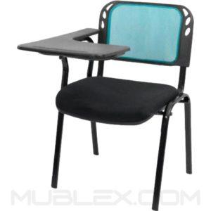 silla universitaria isosceles malla brazo fijo en plastico