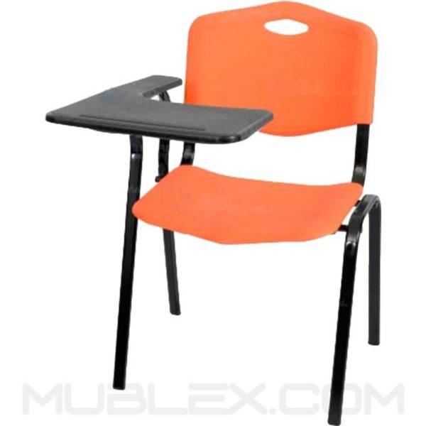silla universitaria speed brazo fijo en plastico