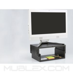 eleva monitor 5 alturas 34 cm   madera ecologica 2