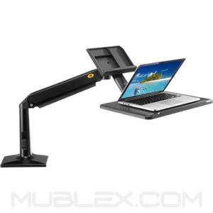estacion de trabajo de pie o sentado fb17 para portatil