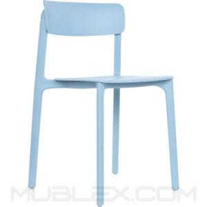 silla clay azul
