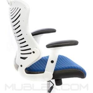 silla rumania blanca azul 2