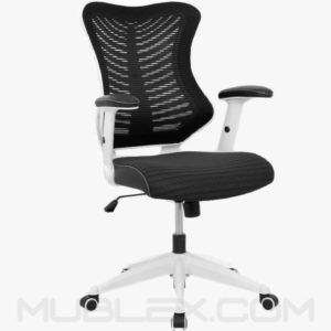 silla rumania blanca negra