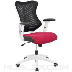 silla rumania blanca roja