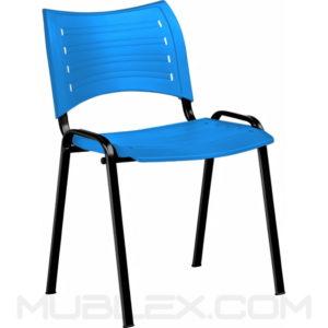 silla smart plastica azul