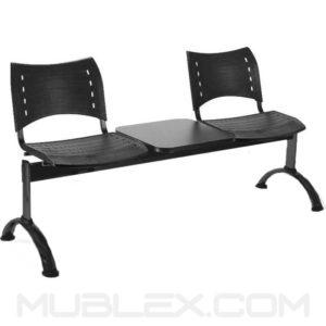 silla tandem smart 2 puestos mesa