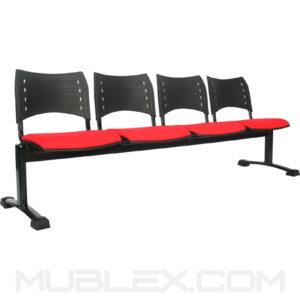silla tandem smart 4 puestos asiento
