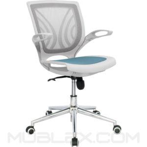 silla tibet blanca azul