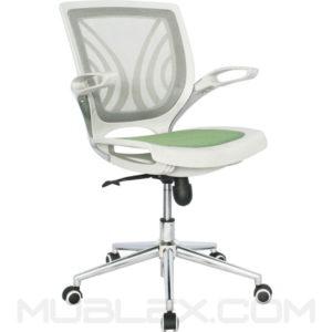 silla tibet blanca verde