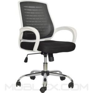silla atlas frontal costado blanca