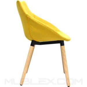 Sillon Vero amarillo 1