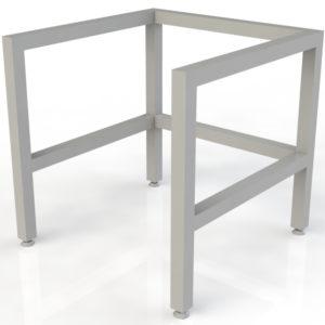 Base para escritorios de ninos cuadrada 2